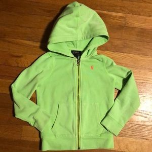 Green Polo sweatshirt hoodie